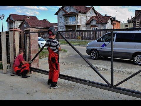 ООО Прогресс - Откатные ворота (выпуск №1)