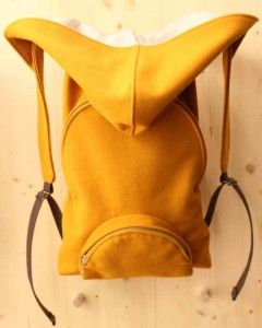 Burel Backpack with Hoodie - typically used by the Portuguese shepherds