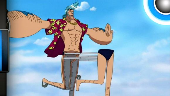 Franky Reverse Centaur One Piece One Piece Anime Sketches