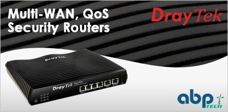 Draytek dual wan Router