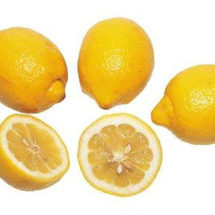 How to Grow a Lemon Tree From Grocery Store Lemons - tutorial ... (quick guide: wash seeds well, set into soil in 1 pot while still damp, sprinkle soil over, mist surface, keep damp otherwise won't grow, separate and transplant when ready)