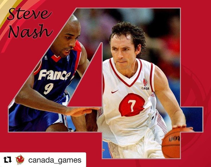 #Repost @canada_games 4 on our Top 50 list: @stephennash who won bronze for @goteambc at the 1993 Canada Games.  Widely regarded as the best Canadian basketball player of all time Steve Nash had an outstanding professional and collegiate career.  Nash was involved in one of the biggest upsets in March Madness history when he led his 15th seed Santa Clara Broncos over 2nd seed powerhouse Arizona in 1993.  This was just the start of Steve's illustrious career as he got drafted by the Phoenix…