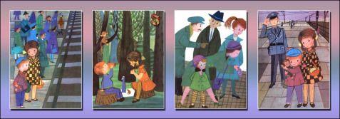 Przygoda z małpką- ilustracje Janina Krzemińska