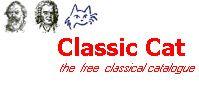 Classic Cat - katalog z linkami do darmowych plików MP3 (około 6000) z muzyką klasyczną