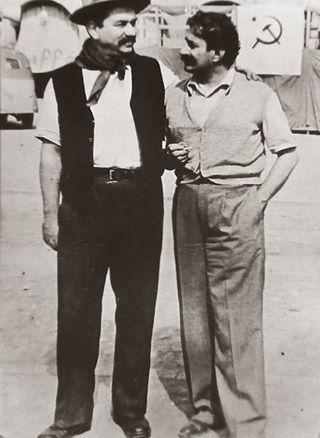 Gino Cervi e Giovannino Guareschi