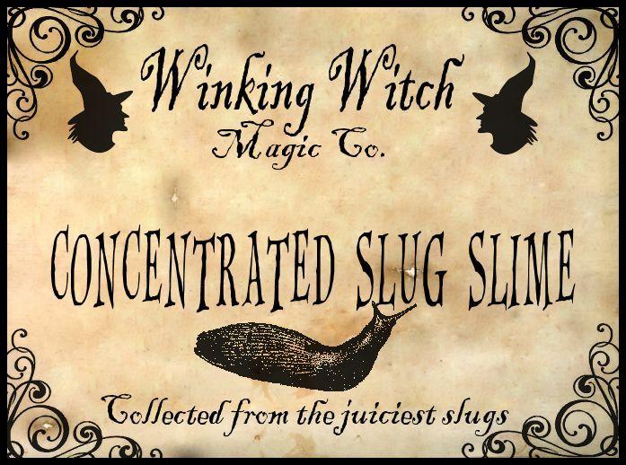 Original potion label by Brandi Hanes