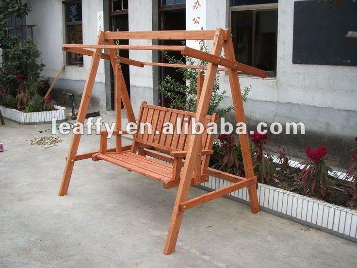 M s de 1000 ideas sobre columpios de madera en pinterest - Columpios de madera ...
