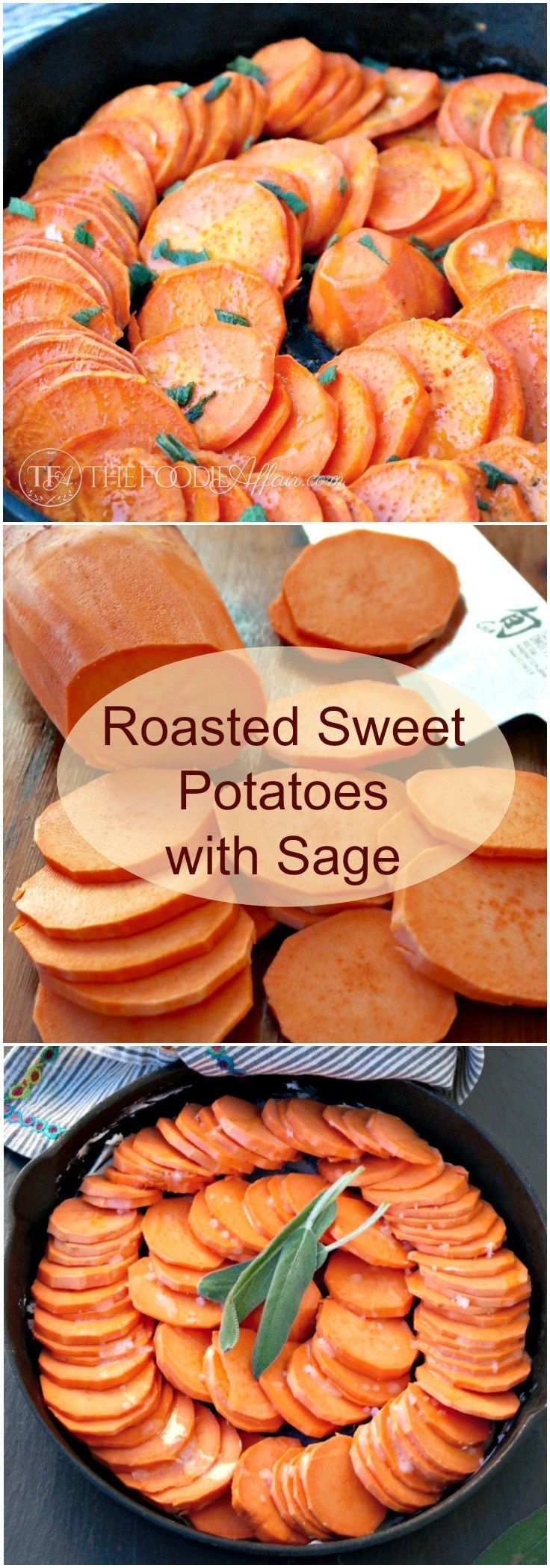 asty roasted sweet potatoes with sage, butter and honey make a delicious side dish to any Autumn meal. The Foodie Affair