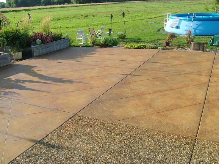 Concrete Acid Stain Photo Gallery. Stained Concrete PatiosPainting ...