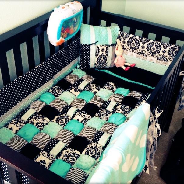Tiffany Blue Baby Girl Nursery
