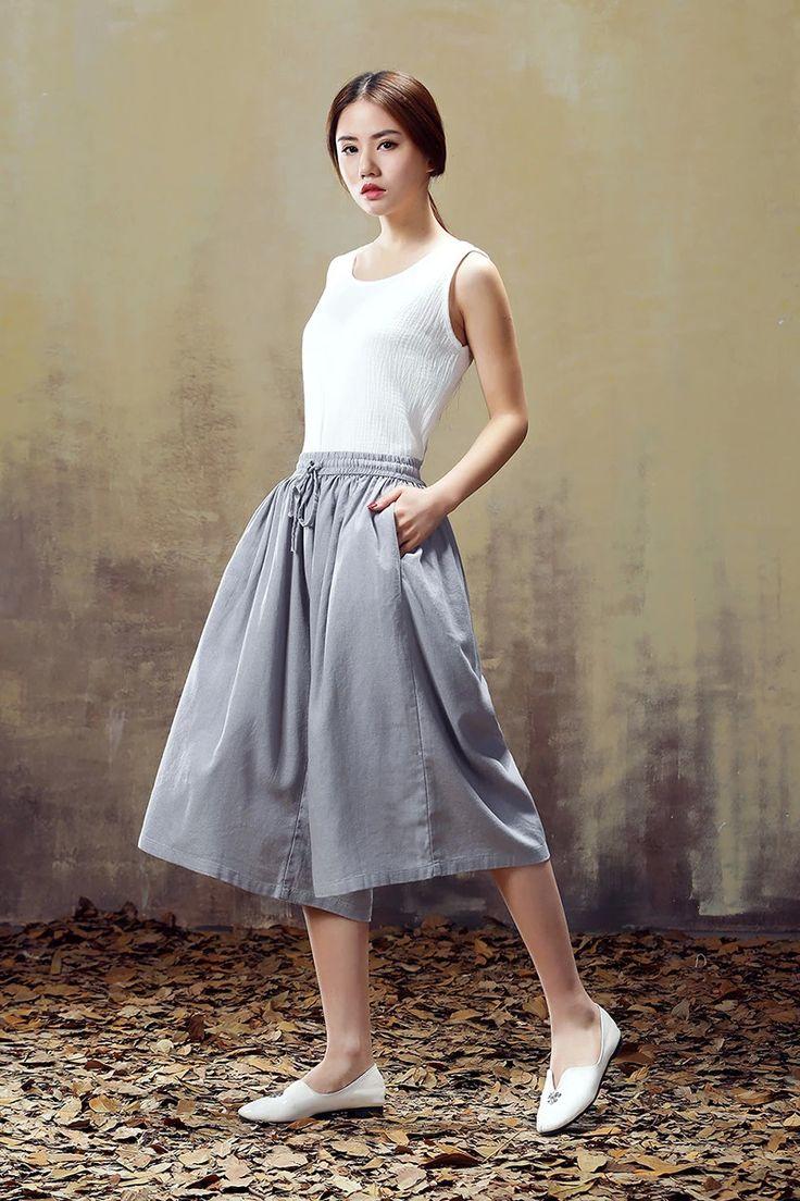 2015 летние женские литературные ретро хлопок свободные большие ярдов в пяти штаны белье широкие брюки ноги брюки брюки случайные - глобальный Station Taobao