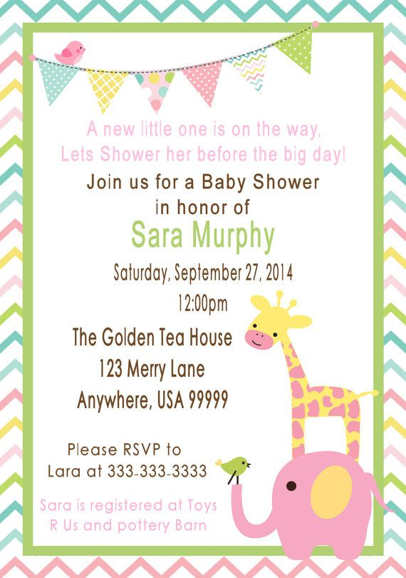 about elephant and giraffe baby shower on pinterest shower time
