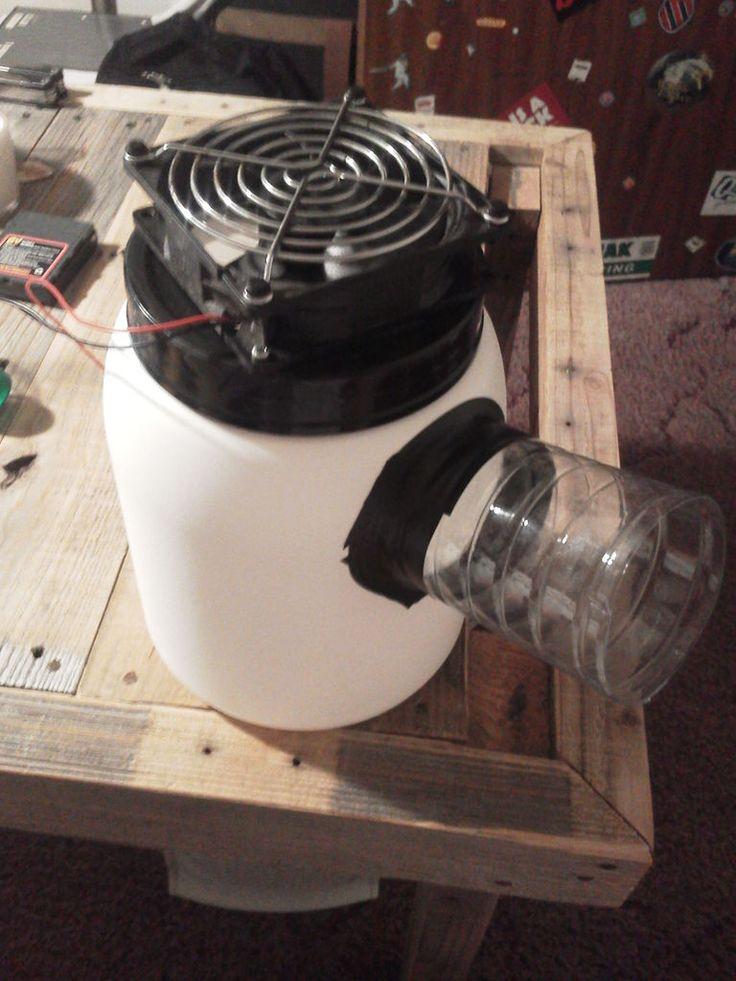 diy mini cold air fan. SO COOL!