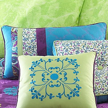 Chelsea Accent Pillows - jcpenneyChelsea Paisley, Paisley Decor, Girls Bedrooms, Accent Pillows, Decorative Pillows, Decor Pillows, Pillows Power, Chelsea Decor, Chelsea Accent