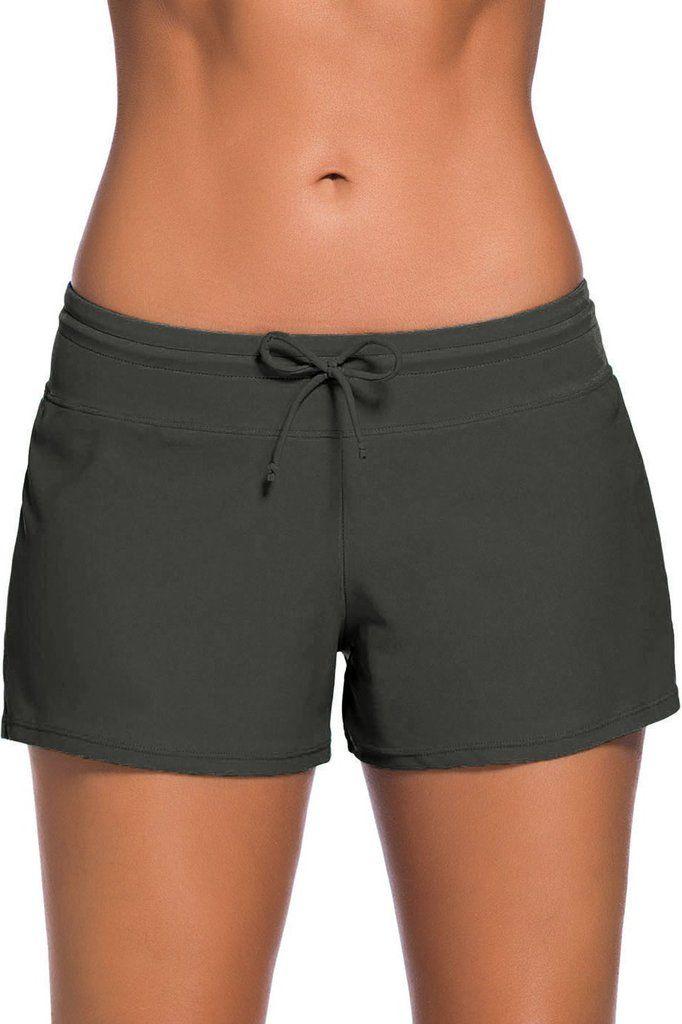 Short de Bain Boardshort Femme Gris MB41977-11 – Modebuy.com