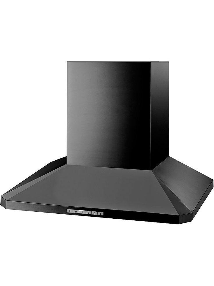 Bild på Thermex Decor 786 vägg 60 svart softto