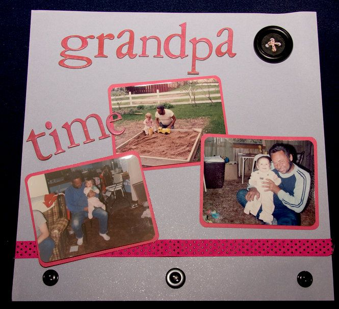 Grandpa Time - Scrapjazz.com