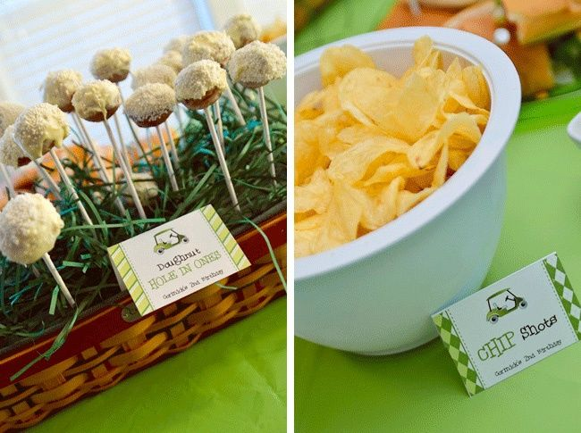 Golf party food ideas #receipe #food