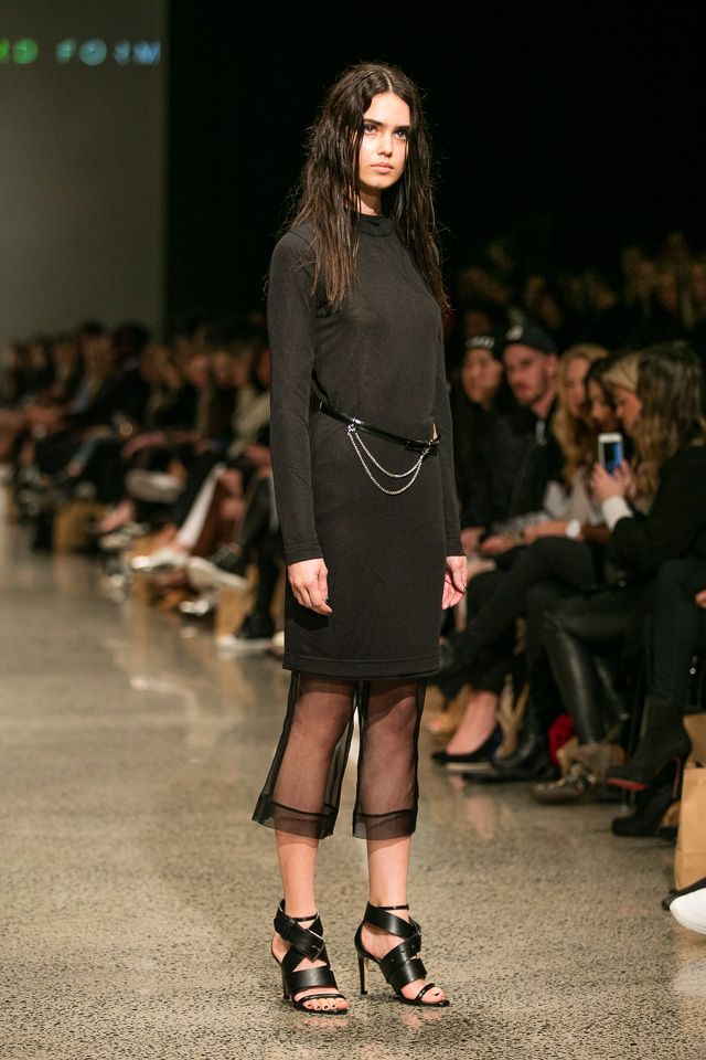 nzfw 2015 - third form - Beautiful Black : Beautiful Black: