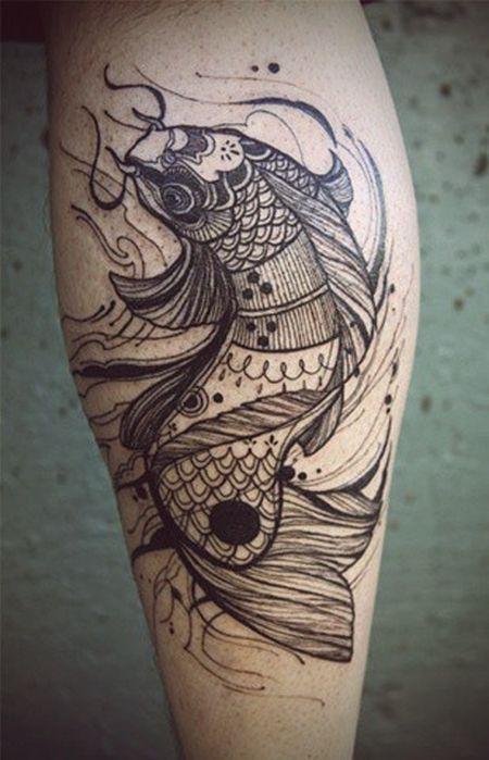 http://tattoomagz.com/david-hale-tattoos/david-hale-tattoo-carpa/