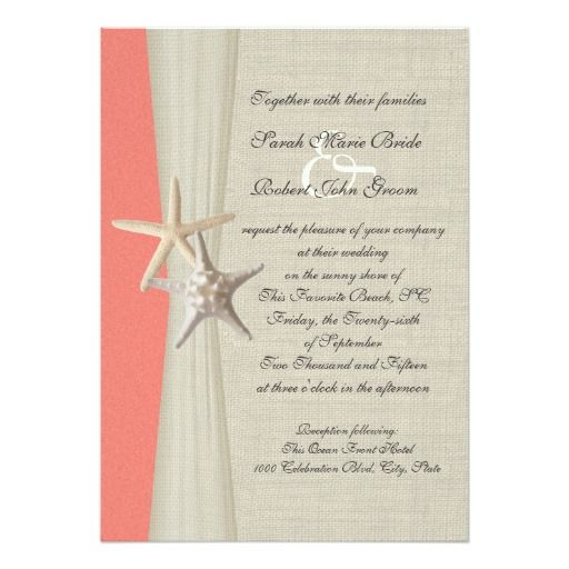 146 best Coral Rustic Wedding Invitations images on Pinterest - best of invitation cards for wedding price