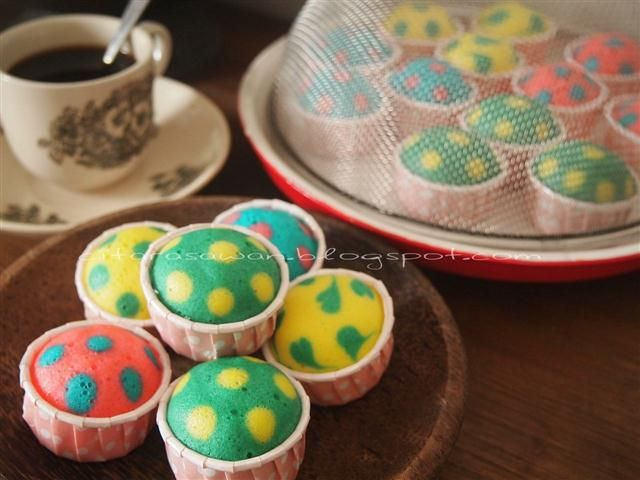 Recipes today - Apam Polkadot