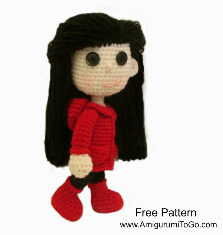 Amigurumi To Go Tutorial : Best images about free dolls dollhouse crochet