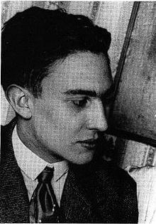 Raymond Radiguet, looking rather young and ill.
