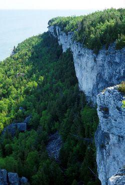 Niagara Escarpment.