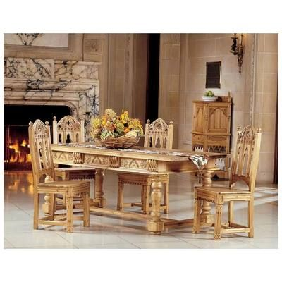 Toscano AF7438 Sudbury Solid Pine Dining Table