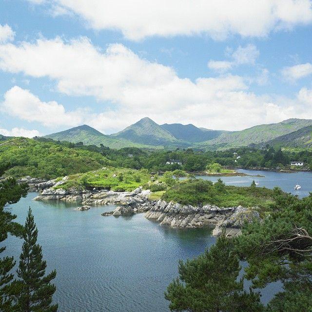 Nothing says romance like the lush rolling hills of Cork, Ireland