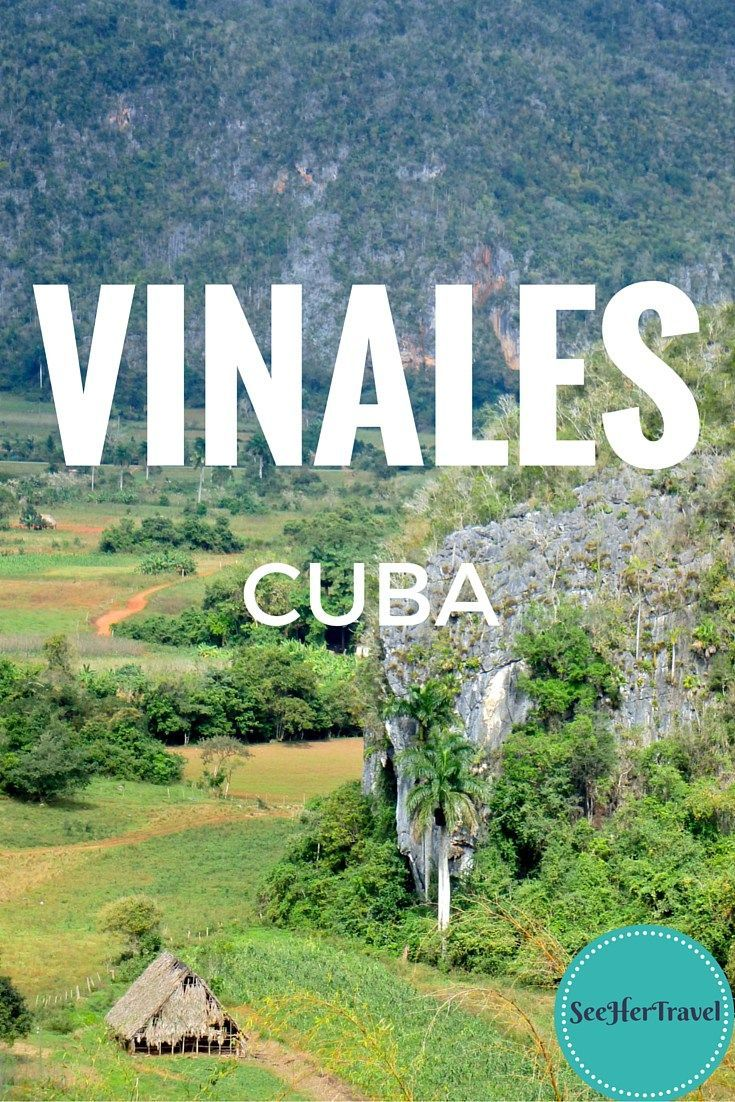 Vinales, Cuba ~~ A gorgeous valley of massive cliff structures, tobacco farms, coffee plantations, and epically long cave systems!  A travel blog from See Her Travel