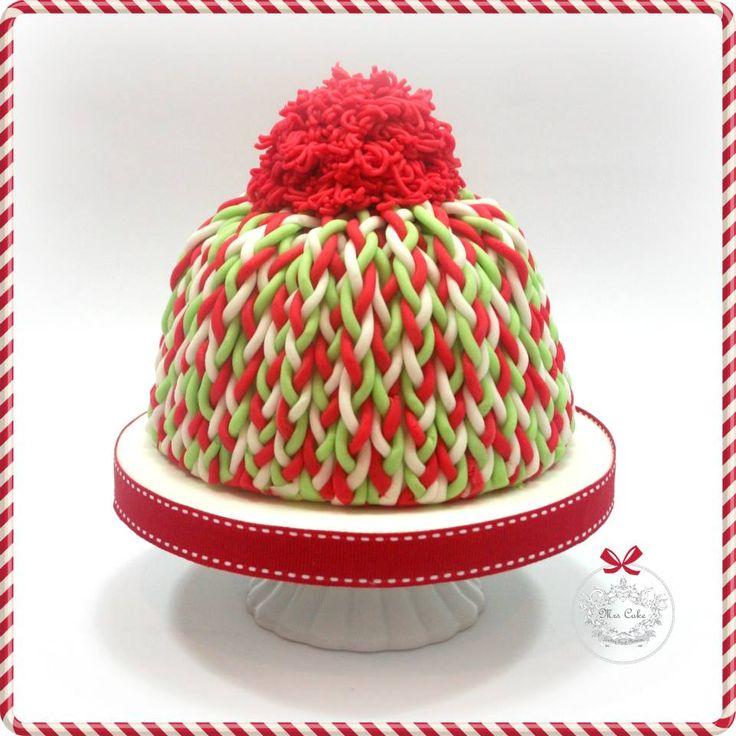 xmas cake hat