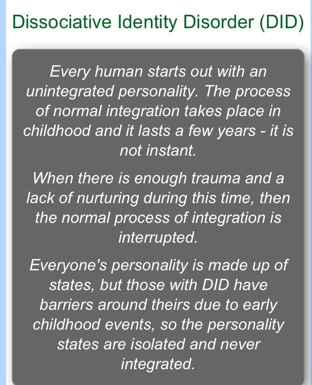 the correlation between multiple personality disorder and child abuse • the relationship between the child and the perpetrator researchers also have begun to explore why,  between child abuse and neglect and the following: difficulties during infancy  is a risk factor for borderline personality disorder, depression, anxiety, and other psychiatric disorders one study using.