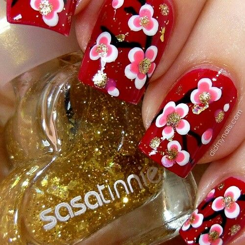 15 best chinese nail designs images on pinterest colors diy chinese new year nail art by did my nails personally love this look prinsesfo Image collections