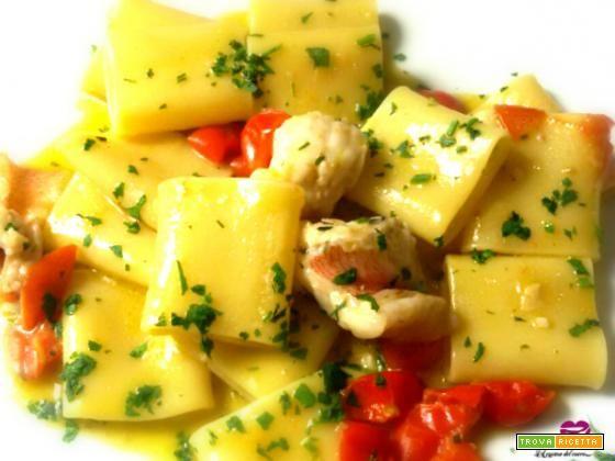 Paccheri al sugo di scorfano  #ricette #food #recipes