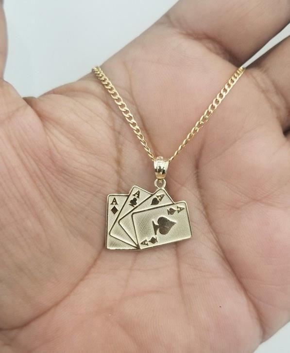 GoldenMine Fine Jewelry Collection 14k Two Tone Gold Jesus Cross Religious Charm Pendant