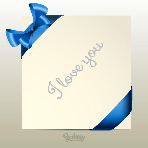 I love you note illustration