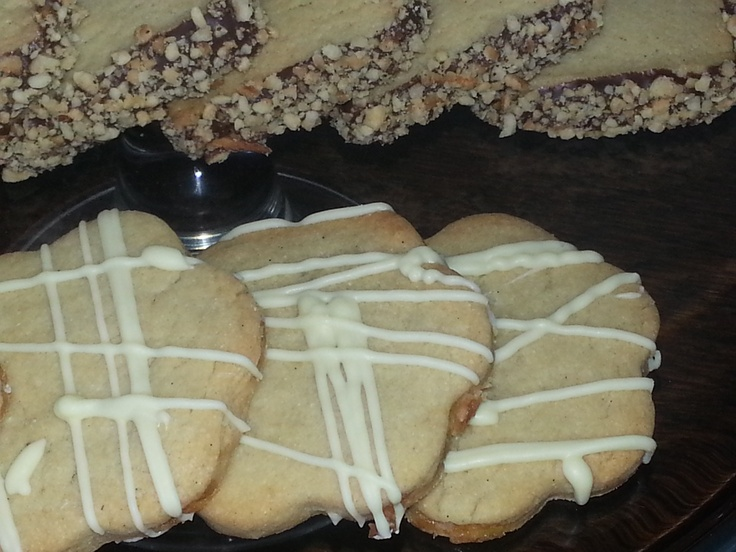 Toffee Apple & White Chocolate Luxury All Butter Biscuit