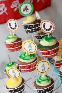 Preakness Cupcakes