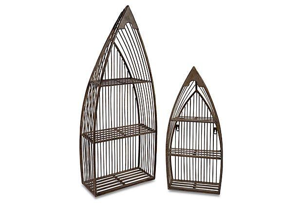 S/2 Nesting Boat Shelves on OneKingsLane.com