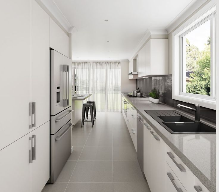 Gray Galley Kitchen: 1000+ Images About Studio Concept Kitchens On Pinterest