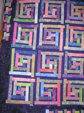 Bali pop quilt
