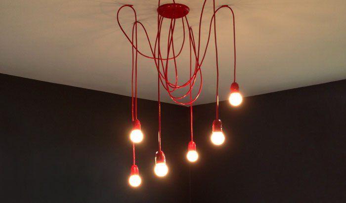 Luminária Pendente - Faça você mesmo - Homens da Casa