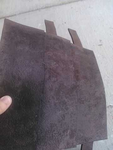 leather effect on craft foam