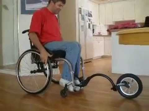 FreeWheel Wheelchair Attachment | Living Spinal