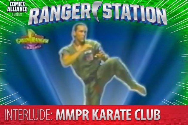 Ranger Station: Mighty Morphin Power Rangers Karate Club