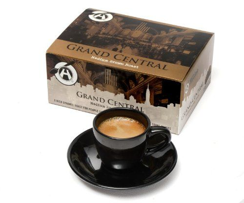 Nespresso Compatible Coffee Capsules, Box of 20 Capsules (Grand Central Medium) - http://thecoffeepod.biz/nespresso-compatible-coffee-capsules-box-of-20-capsules-grand-central-medium/