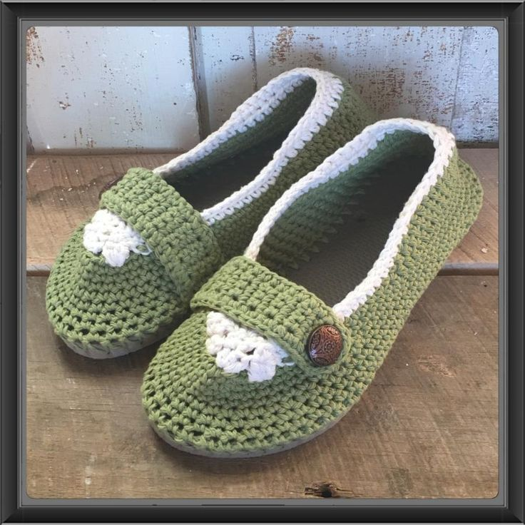 Flip Flop Slippers with Strap and Button by Alana Judah