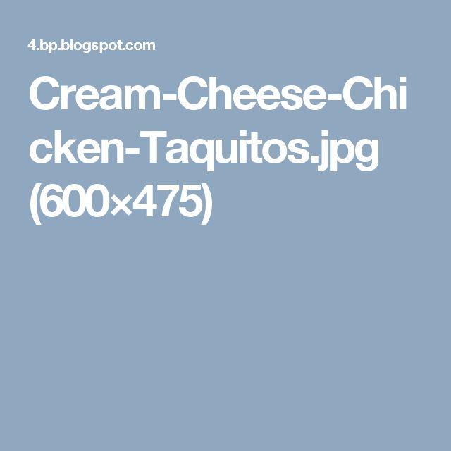 Cream-Cheese-Chicken-Taquitos.jpg (600×475)